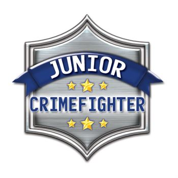 Junior Crimefighter Temporary Tattoo