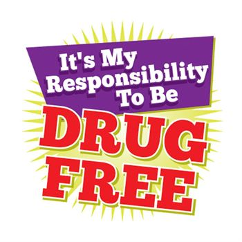 It's My Responsibility To Be Drug Free Temporary Tattoos