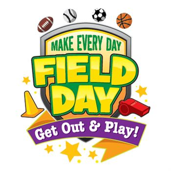 Make Every Day Field Day Get Out & Play! Temporary Tattoo