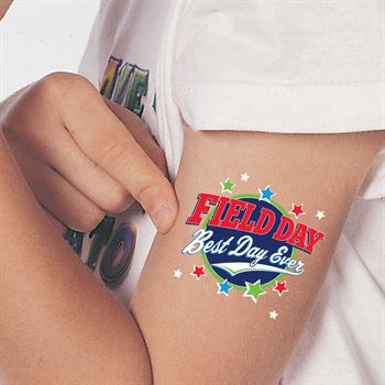 Field Day: Best Day Ever Temporary Tattoos