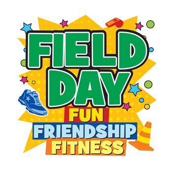 Field Day Fun, Friendship, Fitness Temporary Tattoos - Pack of 100