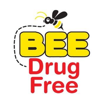 Bee Drug Free Temporary Tattoo