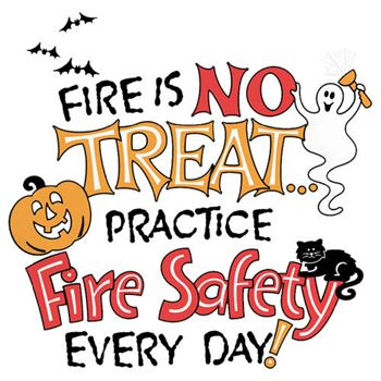 Fire Is No Treat Practice Fire Safety Every Day Temporary Tattoo