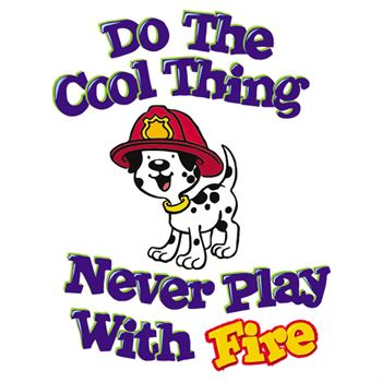 Do The Cool Thing Never Play With Fire Temporary Tattoos