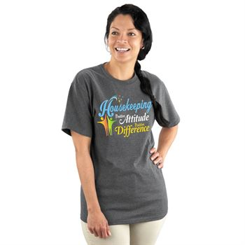 Housekeeping Positive Attitude Positive Difference T-Shirt