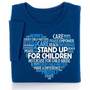 Stand Up For Children Short-Sleeve T-Shirt
