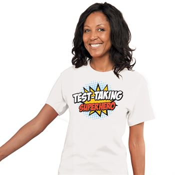 Test Taking Superhero T-Shirt