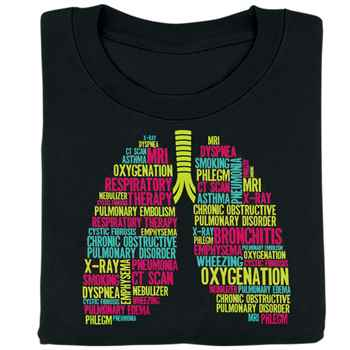 Respiratory Therapy (Lungs) T-Shirt
