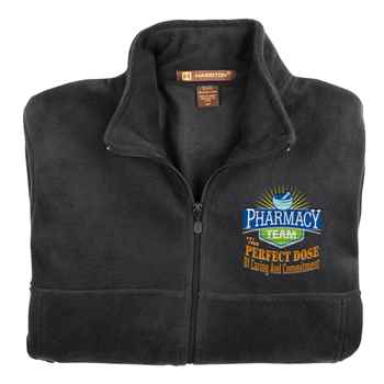 Pharmacy Team Embroidered Unisex Full-Zip Fleece Jacket