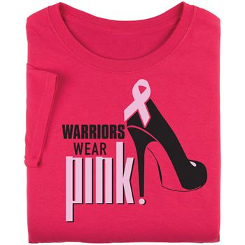 Warriors Wear Pink Awareness T-Shirt