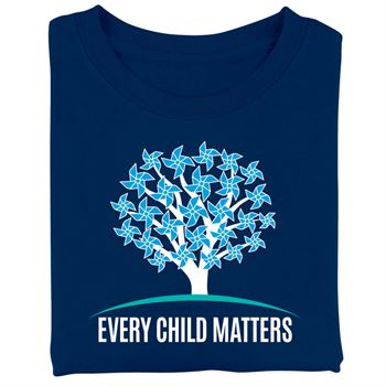 Every Child Matters/10 Reasons Two Sided Short-Sleeve T-Shirt