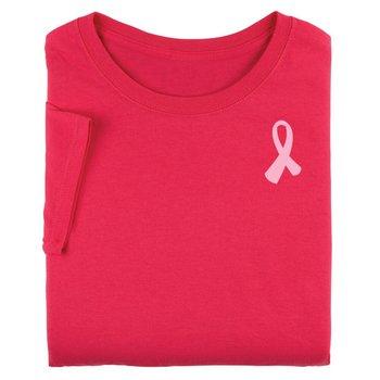 Warriors Wear Pink Awareness 2-Sided T-Shirt