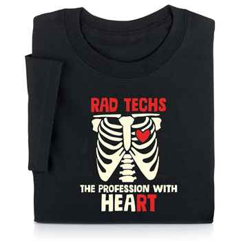 Rad Techs: The Profession With Heart Short-Sleeved T-Shirt