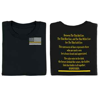 The Thin Gold Line 2-Sided T-Shirt