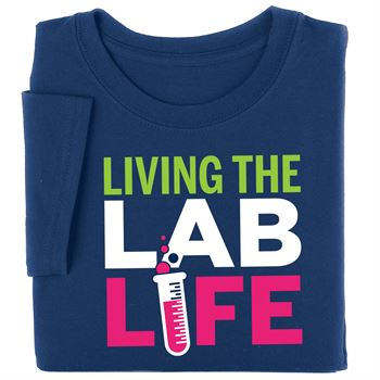 Living The Lab Life Short Sleeve Recognition T-Shirt