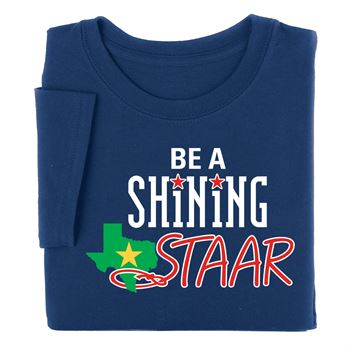 Be A Shining STAAR Adult T-Shirt