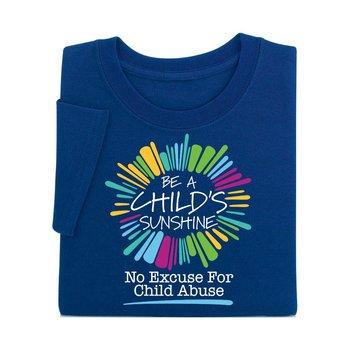 Be A Child's Sunshine Navy Short-Sleeve T-Shirt