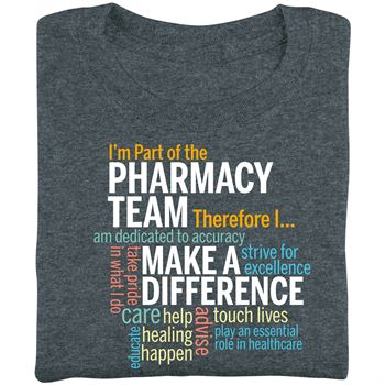 I'm Part Of The Pharmacy Team Therefore I... Short Sleeve T-Shirt