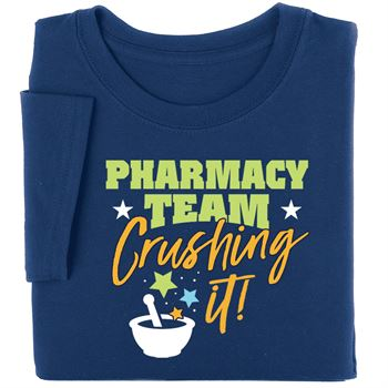 Pharmacy Team: Crushing It! Short Sleeve T-Shirt