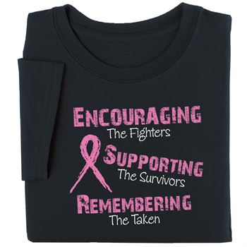 Encouraging The Fighters Awareness T-Shirt