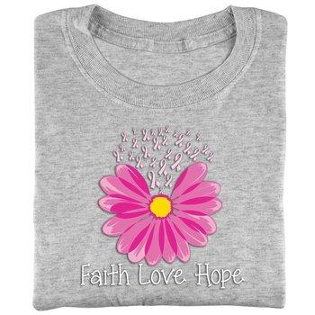 Faith, Love, Hope Awareness T-Shirt