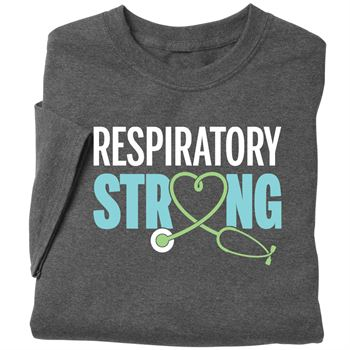 Respiratory Strong Short-Sleeved Recognition T-Shirt