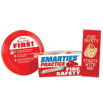Smarties® Practice Fire Safety Mini Flyer Fun Pack