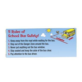 School Bus Safety Superstar Crayons