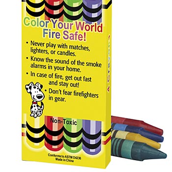 Firefighters Are My Friends! Non-Toxic Crayons