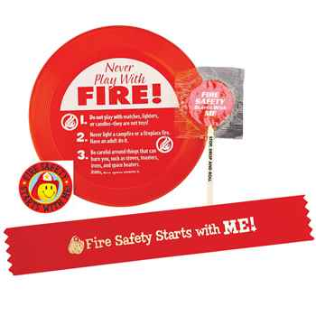 Fire Safety Starts With Me! Mini Flyer Fun Pack