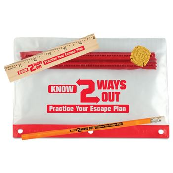 Know Two Ways Out 4-Pc. Pencil Pouch Gift Set