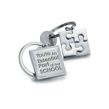 You're An Essential Part Of Our School Puzzle Key Ring