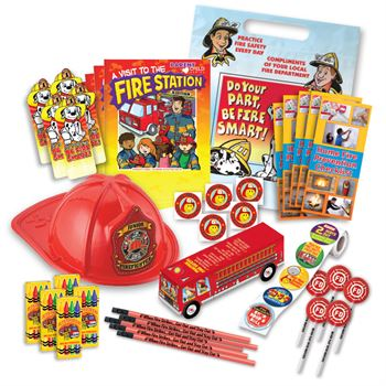 A Visit To The Fire Station 1,200-Piece Open House Kit