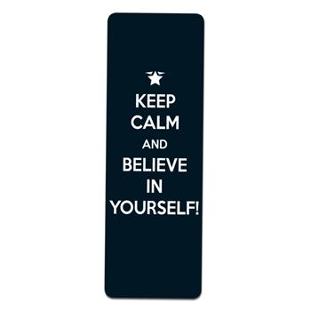 KEEP CALM AND BELIEVE IN YOURSELF Test Prep Pouch