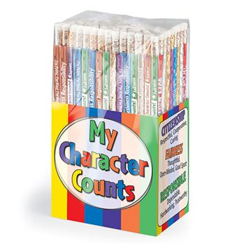 My Character Counts Award 150-Piece Pencil Collection