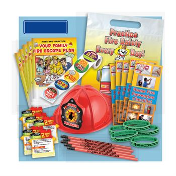 Fire Escape Plan/Know 2 Ways Out 900-Piece Open House Kit