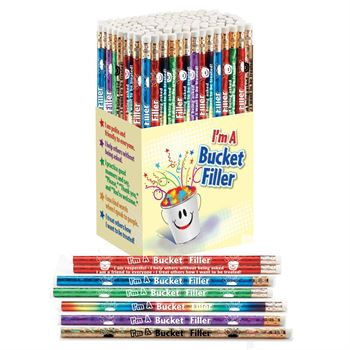 I'm A Bucket Filler 150-Piece Award Pencil Collection