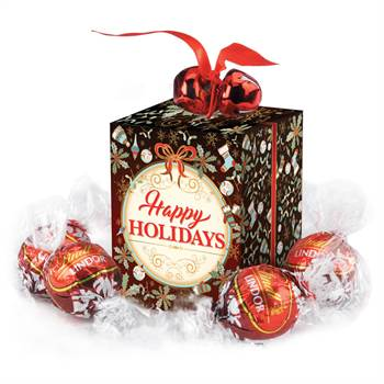 Jingle Bells Gift Box With Lindt ® Chocolate Truffles