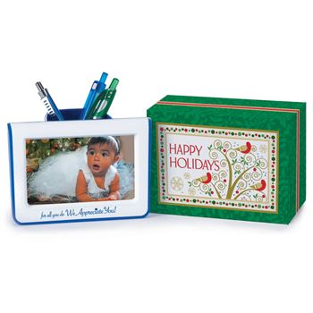 For All You Do We Appreciate You Holiday Photo Frame Pencil Cup