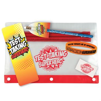 Test-Taking Superhero Test Prep Pouch