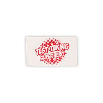 Test Taking Superhero Test Prep Pouch