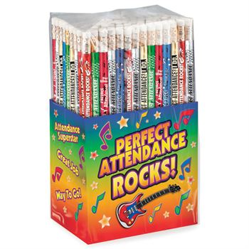 Perfect Attendance Pencil Collection