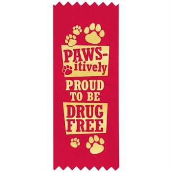 Pawsitively Proud To Be Drug Free Theme Kit