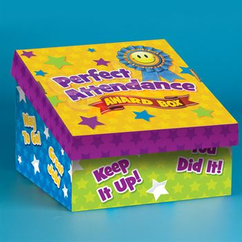 Award Tag Assortment With Perfect Attendance Box