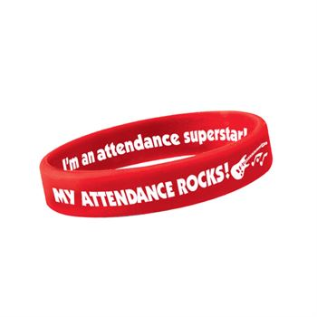 My Attendance Rocks! Pencil Pouch