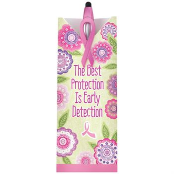The Best Protection Is Early Detection 3-in-1 Pen & Pillow Box