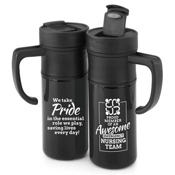 Proud Member Of An Awesome Emergency Nursing Team Hot & Cold Beverage Gift Set