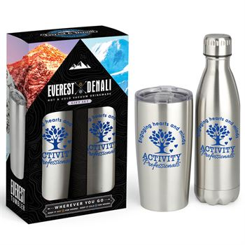 Activity Professionals: Engaging Hearts And Minds Deluxe Hot & Cold Beverage Gift Set