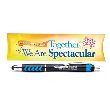 Individually We Are Special, Together We Are Spectacular Kingston Stylus Pen With Pillow Box