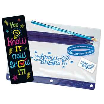 You Know It, Now Show It! Test Prep Pouch